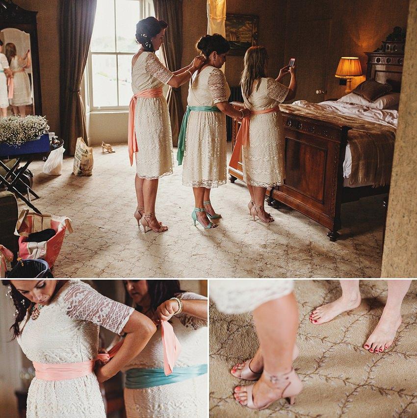 bridesmaids teamwork