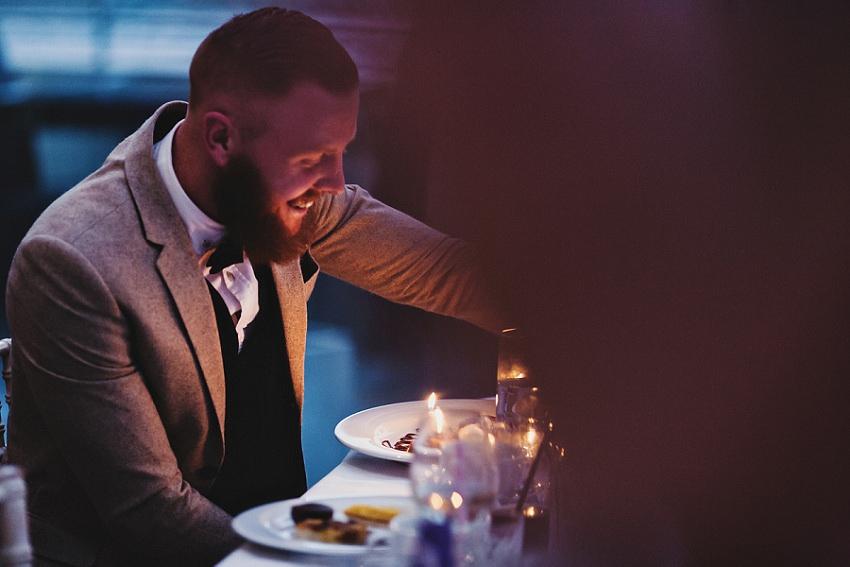 birthday during the wedding