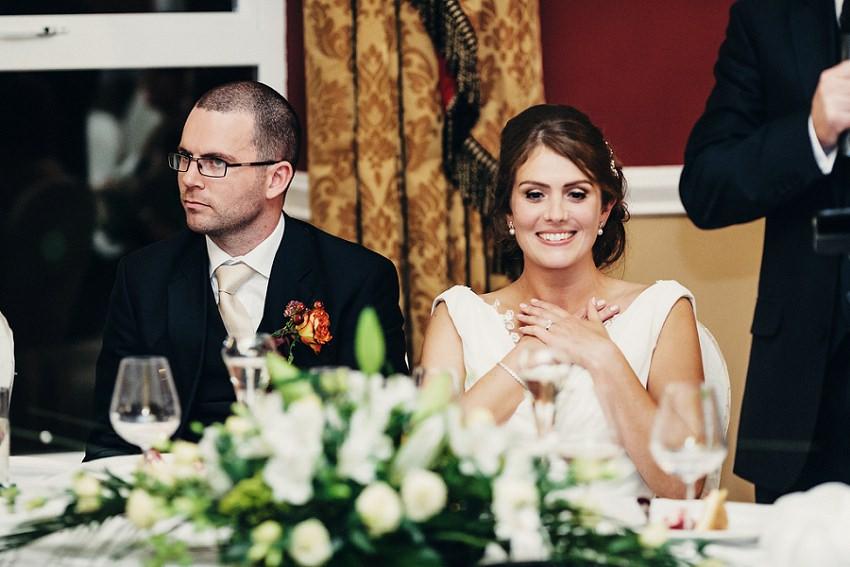 wedding speeches pictures by Sligo photographer