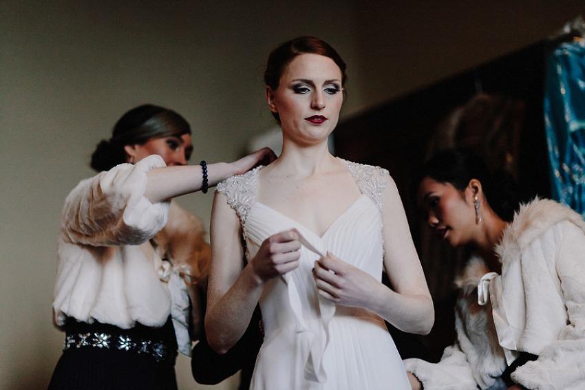 T & G | Winter wedding in Markree Castle Sligo 17