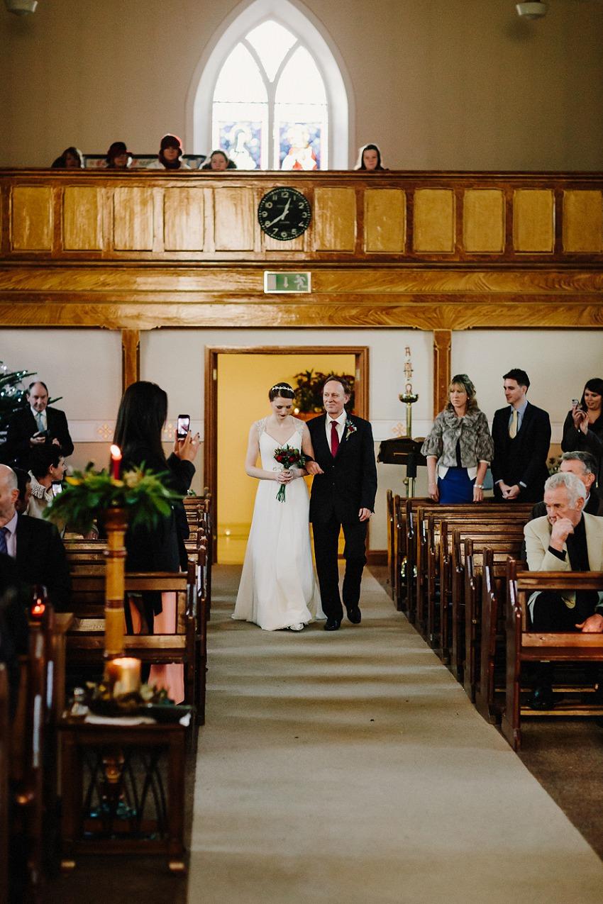 T & G | Winter wedding in Markree Castle Sligo 30