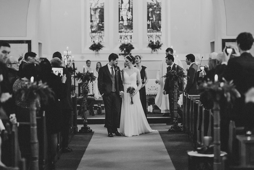 T & G | Winter wedding in Markree Castle Sligo 38