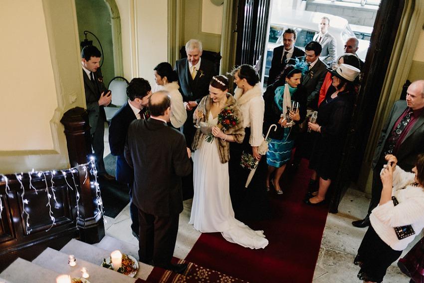 T & G | Winter wedding in Markree Castle Sligo 39