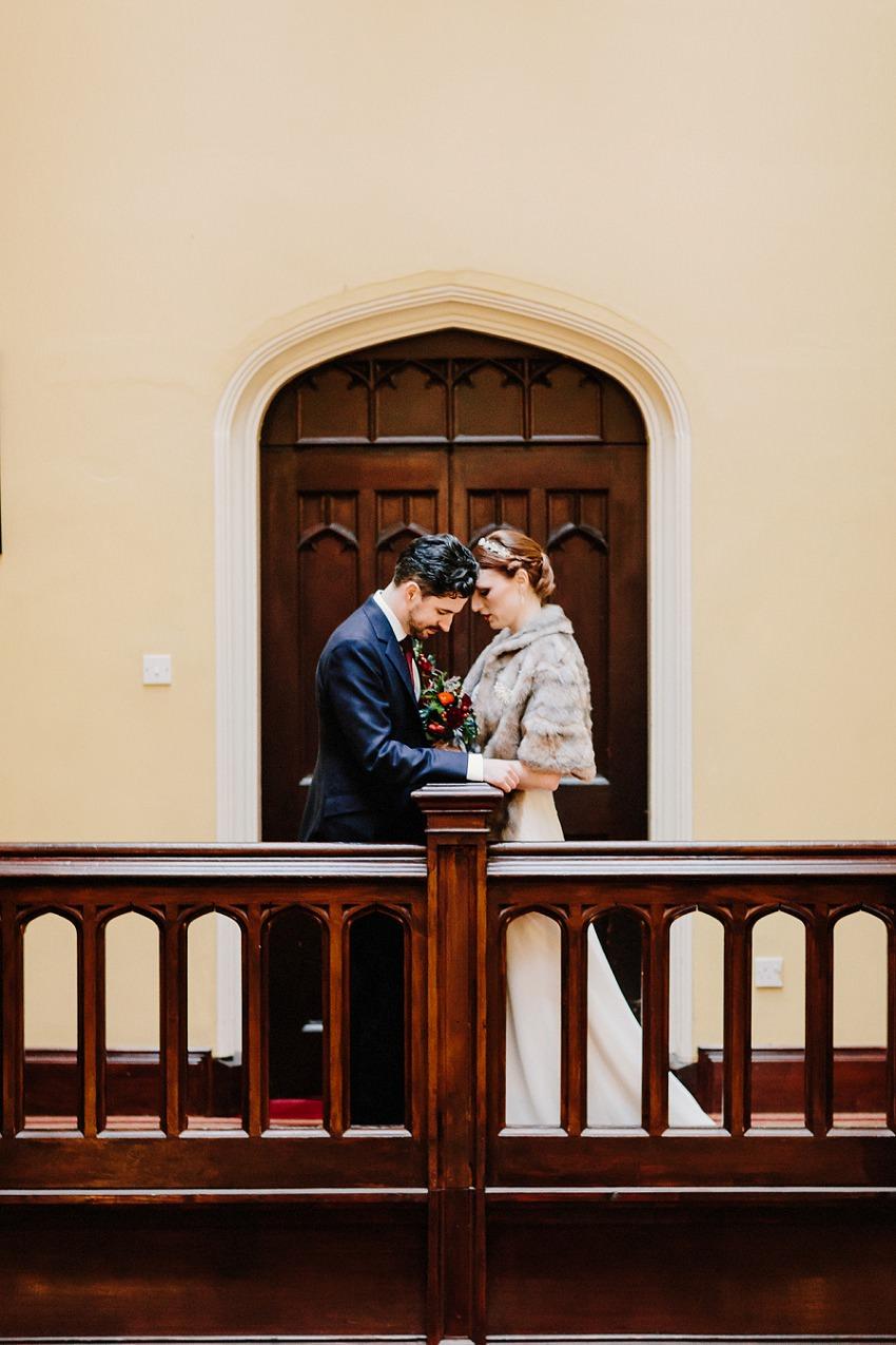 T & G | Winter wedding in Markree Castle Sligo 44