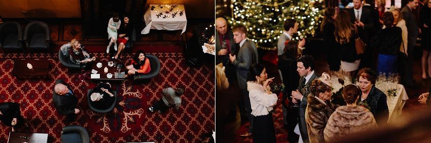 T & G | Winter wedding in Markree Castle Sligo 46