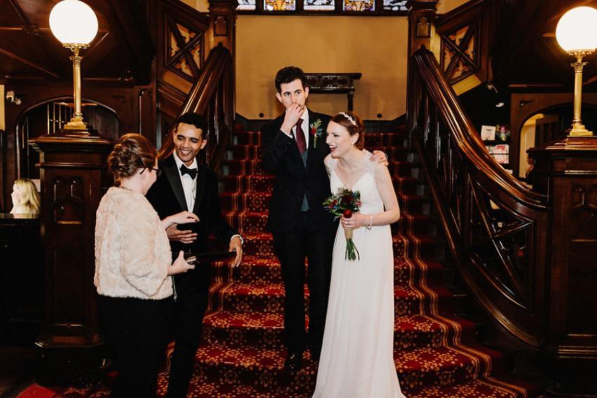 T & G | Winter wedding in Markree Castle Sligo 51