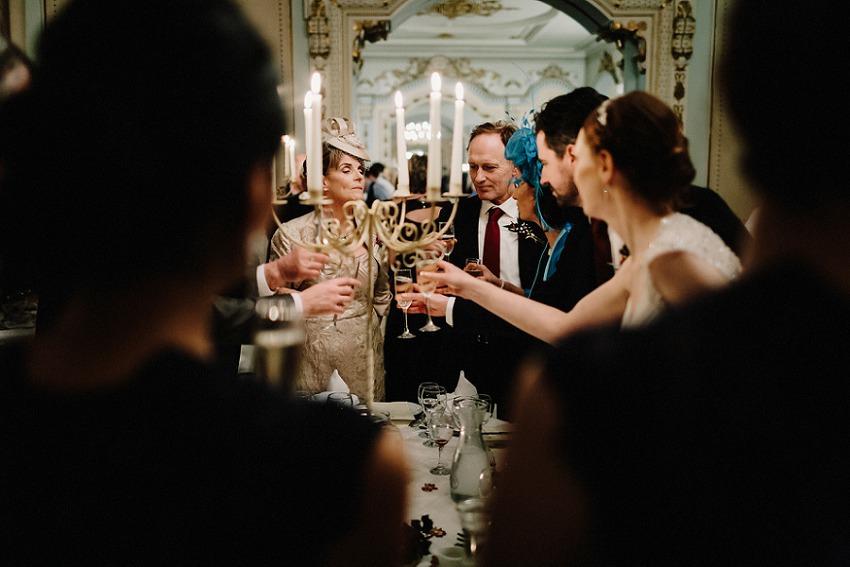 T & G | Winter wedding in Markree Castle Sligo 54