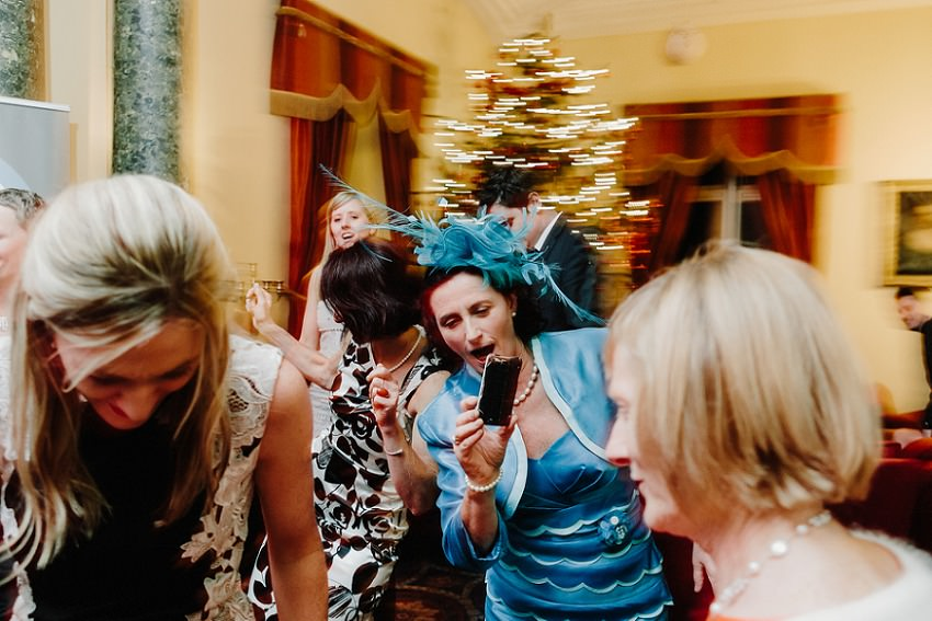 T & G | Winter wedding in Markree Castle Sligo 58
