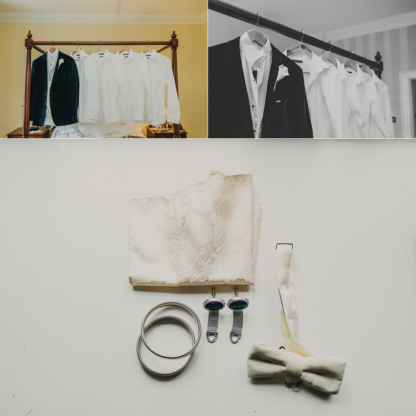 grooms elegance details