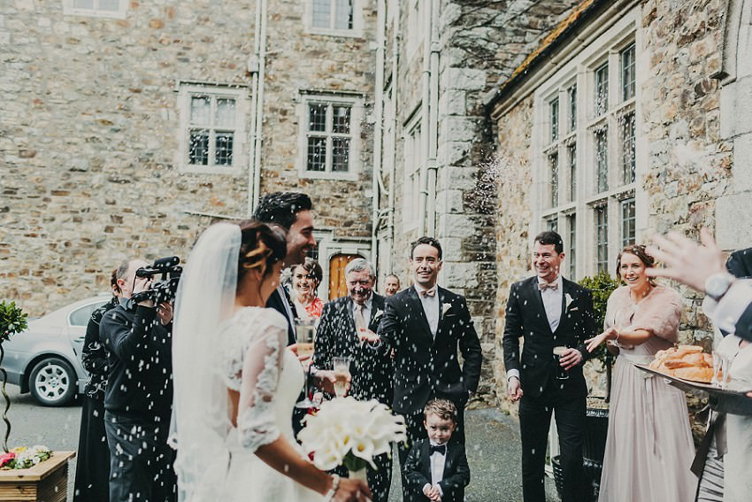 M & C | Real Wedding in Waterford Castle 83