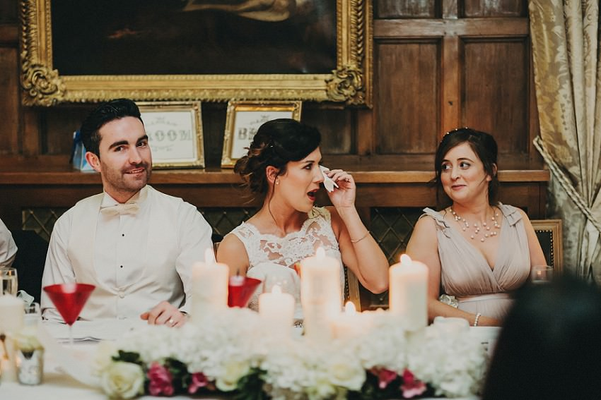 M & C | Real Wedding in Waterford Castle 129