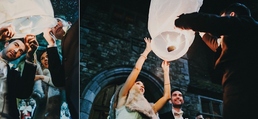M & C | Real Wedding in Waterford Castle 136