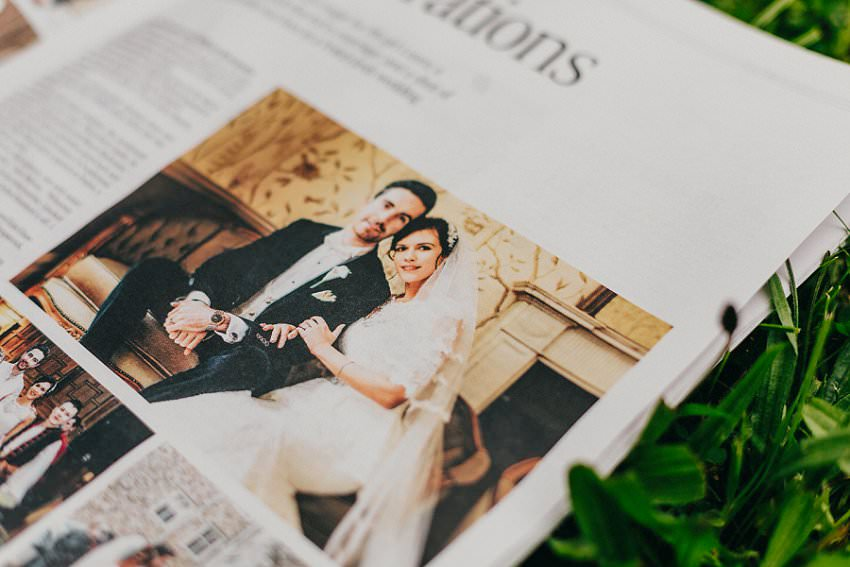 Published in Irish Times newspaper   Irish Castle wedding   Photographer Ireland 3
