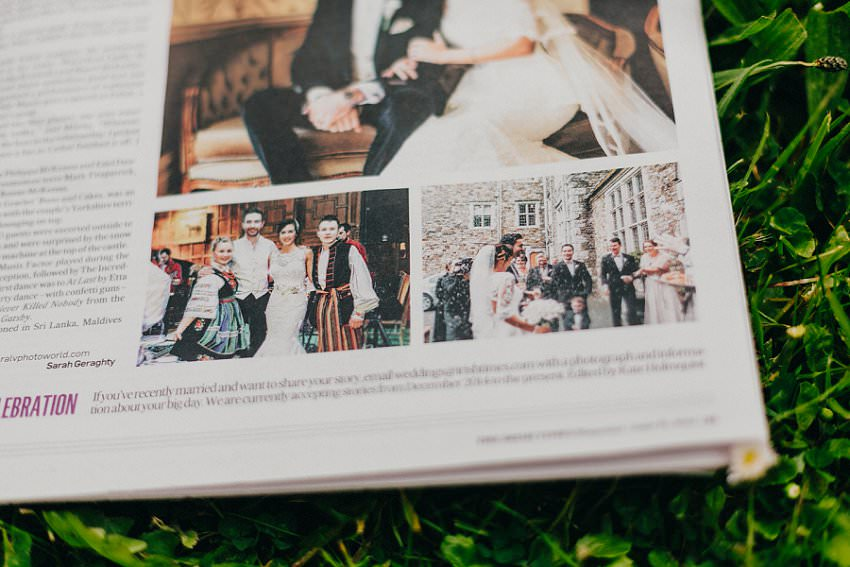 Published in Irish Times newspaper   Irish Castle wedding   Photographer Ireland 4