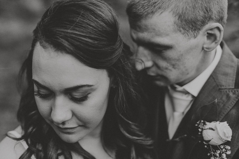 E + D | An intimate wedding in Temple House 105
