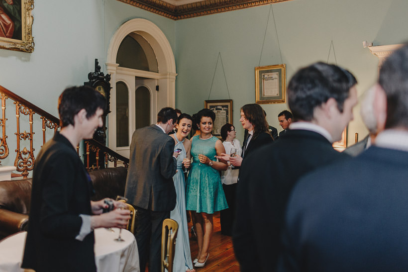 E + D | An intimate wedding in Temple House 106