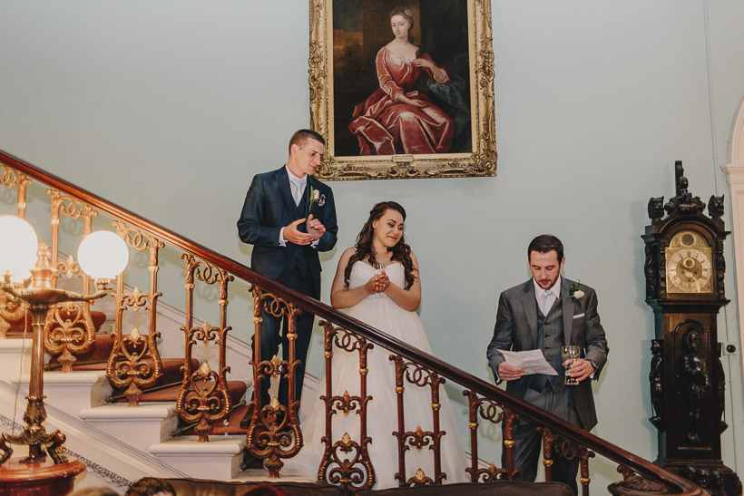 E + D | An intimate wedding in Temple House 109