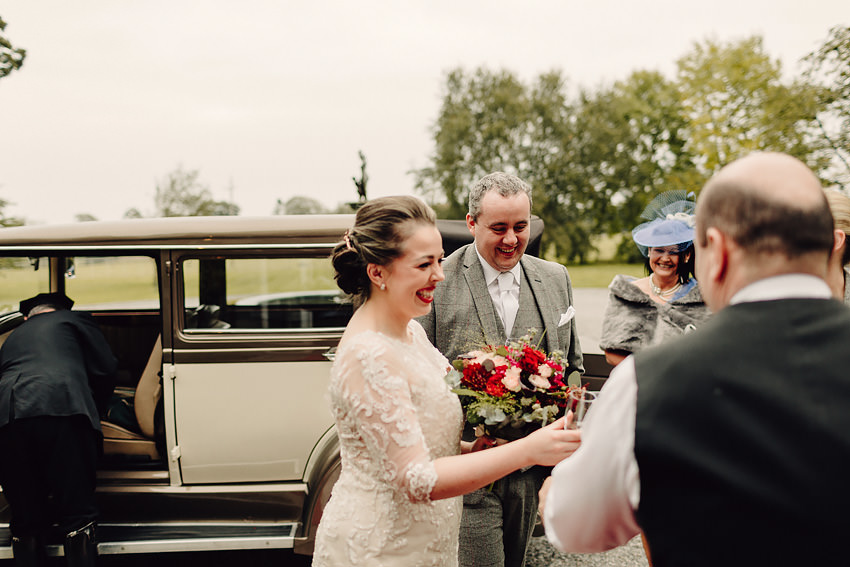Ballymagarvey Village Wedding |M+E| Ireland co. Meath 34