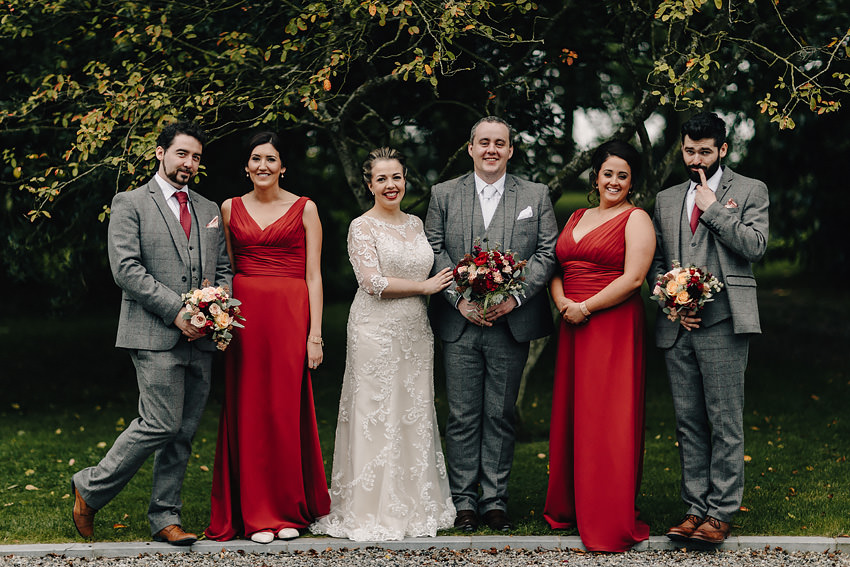 Ballymagarvey Village Wedding |M+E| Ireland co. Meath 57
