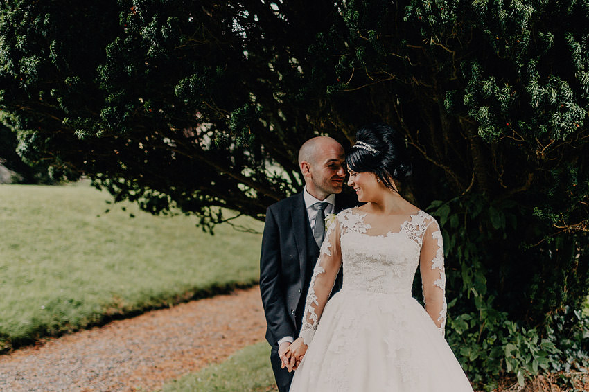 Belleek Castle wedding session on the grounds