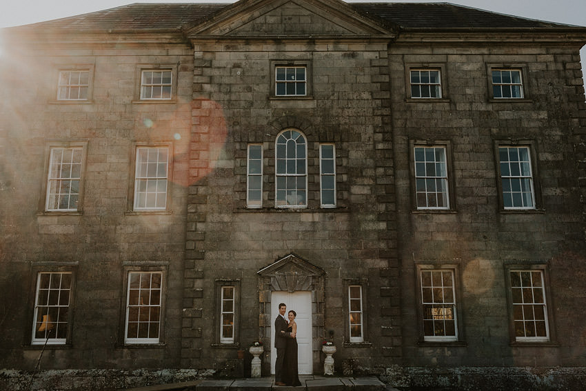 Hidden Ireland House Wedding elopement in Roundwood
