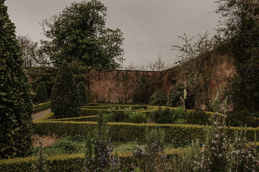 gardens in Dromoland Castle