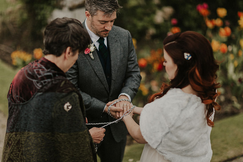 elopement in irish castle