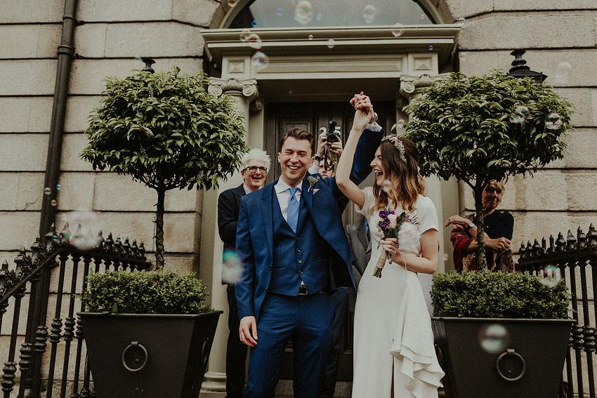 dublin city wedding celebration