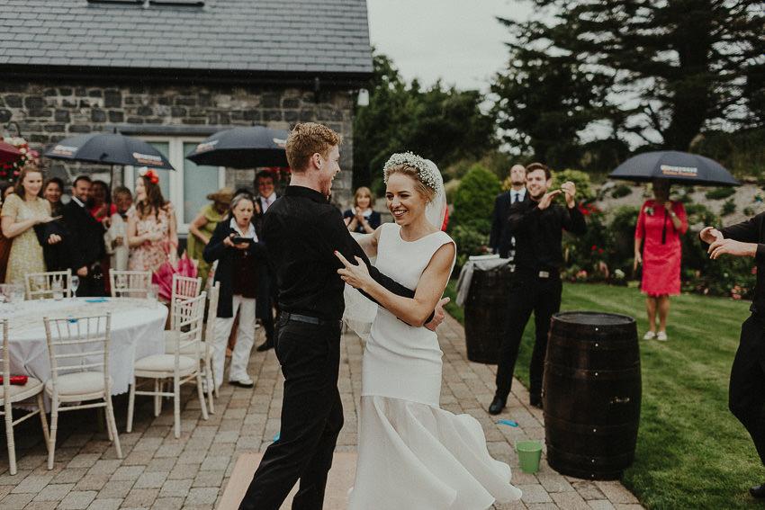 garden-wedding-bride-dances-with-traditional-irish-dancers