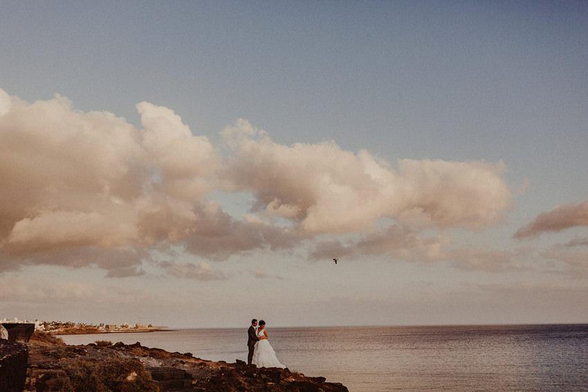 Destination Wedding Photographer in Canary Islands | Warm Lanzarote wedding in October 29