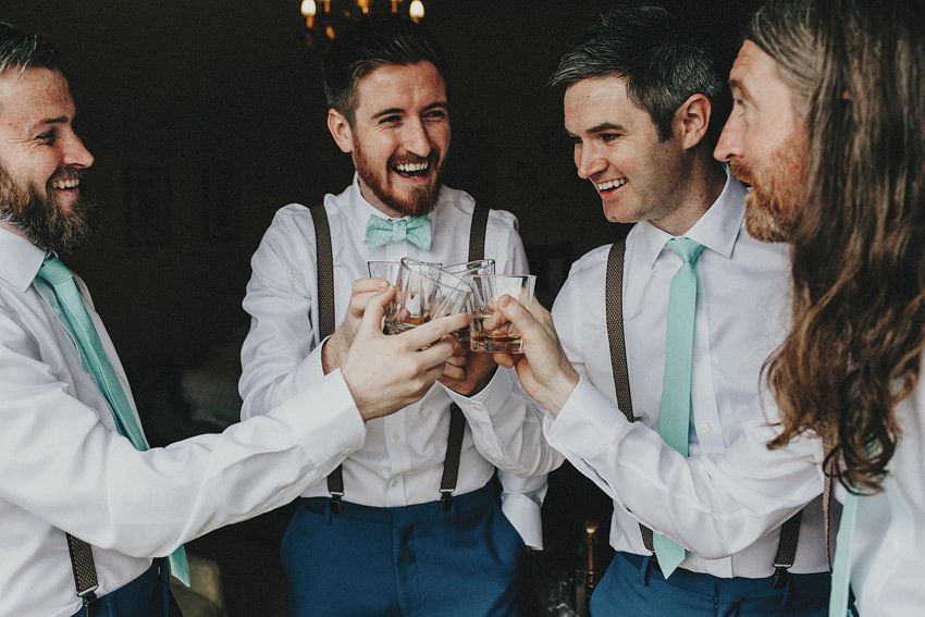 Fun-filled Rathmullan House wedding | H & C | Donegal photographer 37