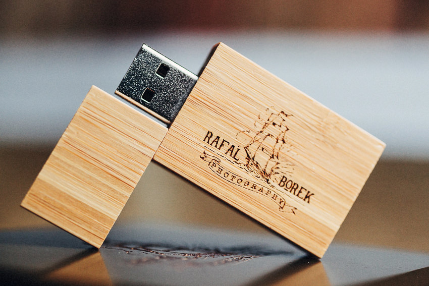Rafal Borek Photography Usb memory stick for clients