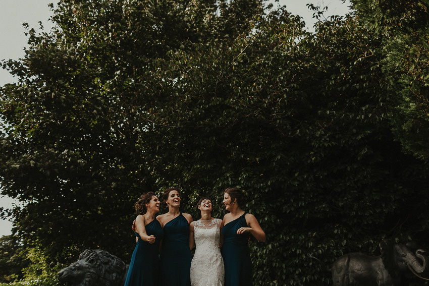 palmerstown house - bridal party