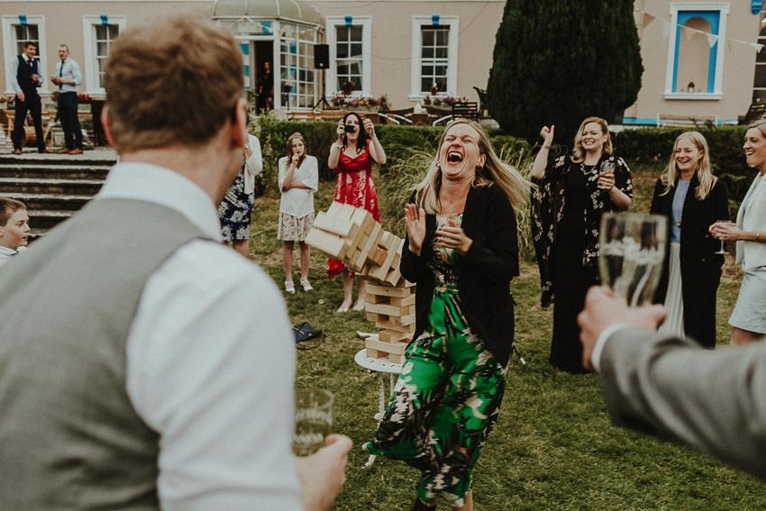 outdoor ceremony in Kildare