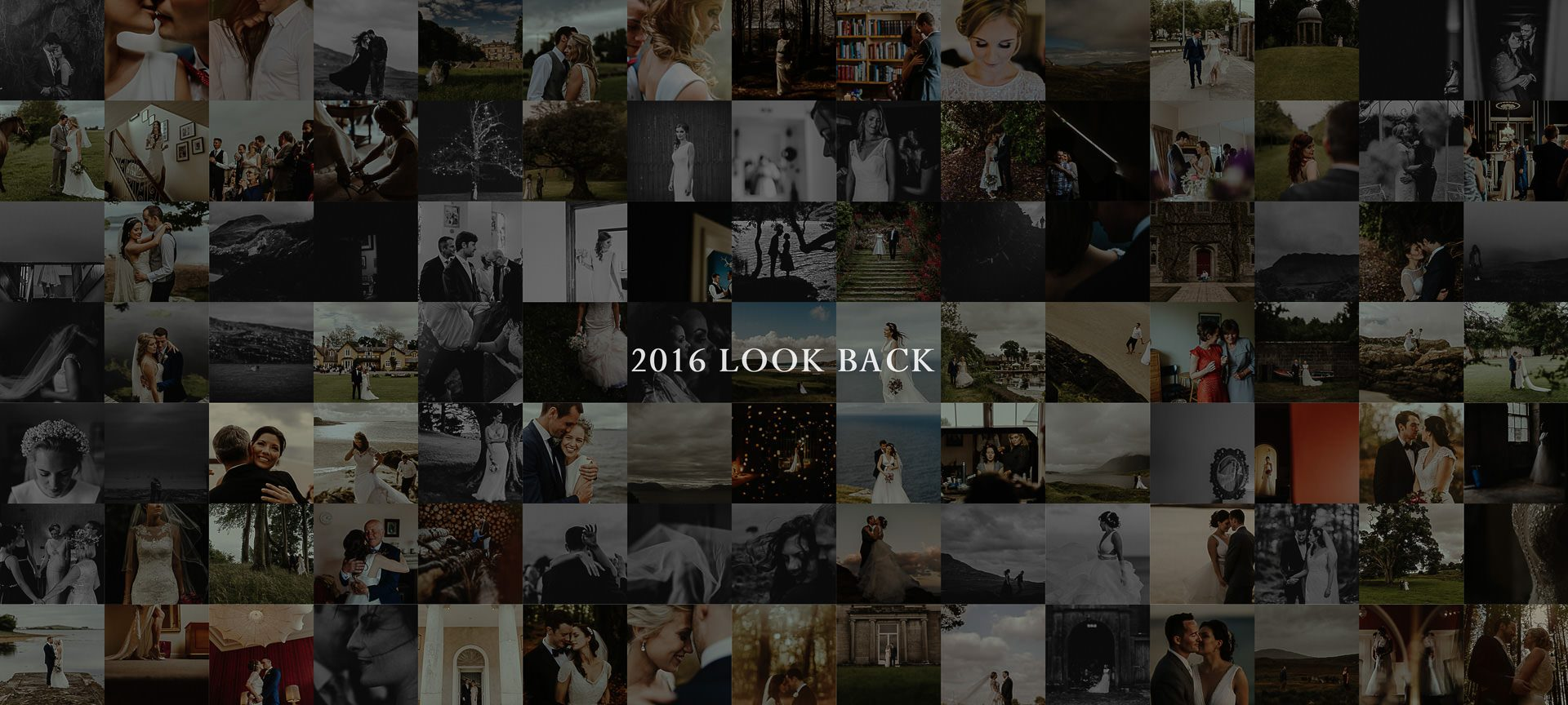 Selection of best wedding pictures in Ireland in 2016 and 2017 and slideshow