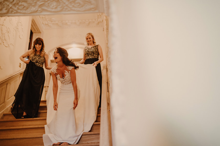 A laidback and intimate winter wedding at The Cliff at Lyons 30