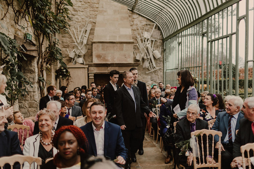 A laidback and intimate winter wedding at The Cliff at Lyons 47
