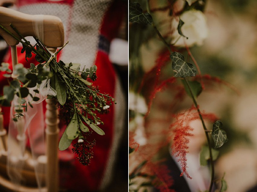 A laidback and intimate winter wedding at The Cliff at Lyons 48
