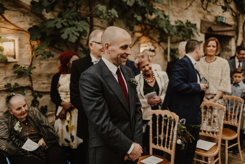 A laidback and intimate winter wedding at The Cliff at Lyons 50