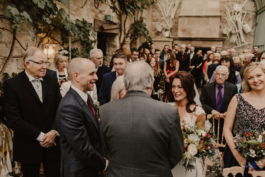 A laidback and intimate winter wedding at The Cliff at Lyons 54