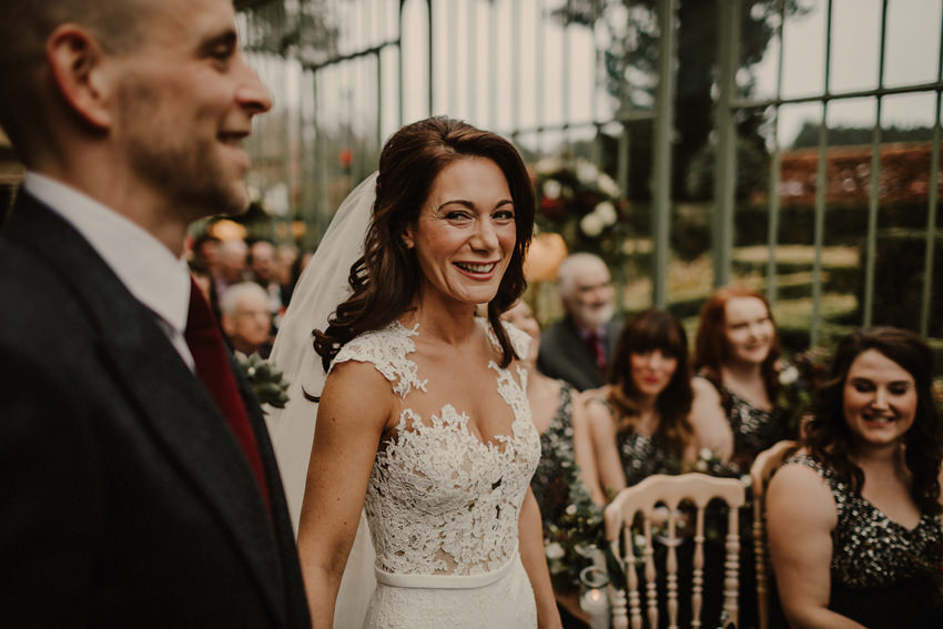 A laidback and intimate winter wedding at The Cliff at Lyons 56
