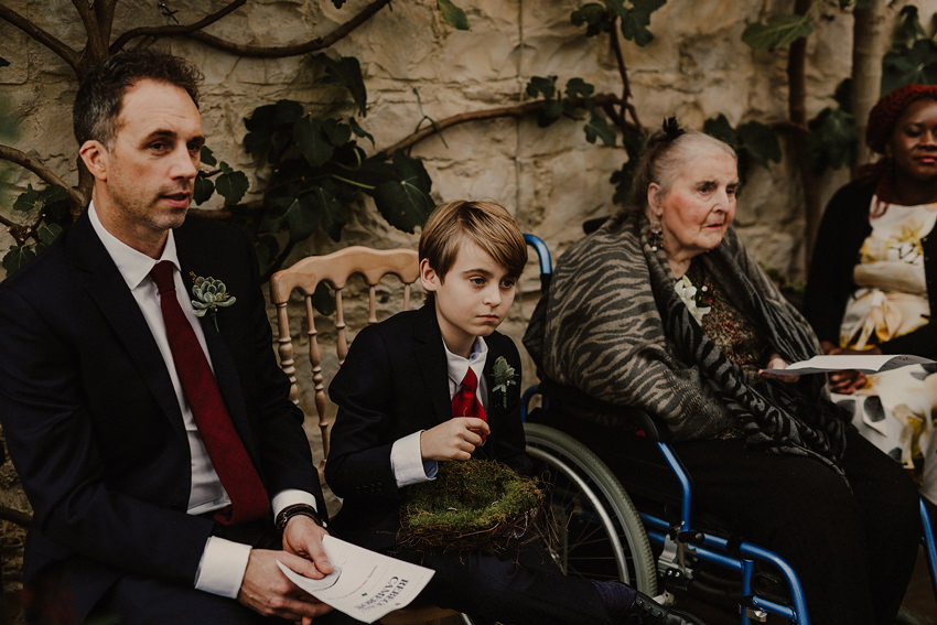 A laidback and intimate winter wedding at The Cliff at Lyons 58