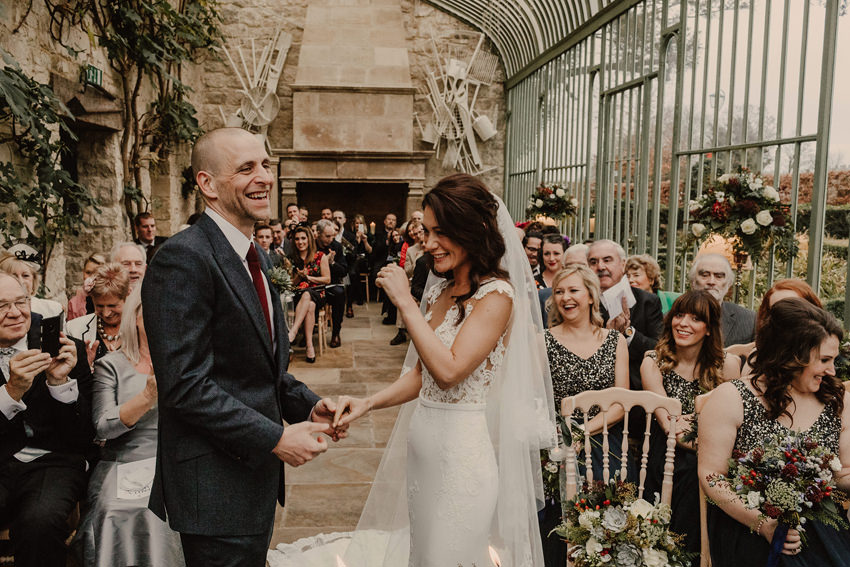 A laidback and intimate winter wedding at The Cliff at Lyons 62