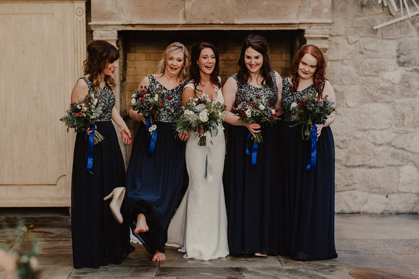 A laidback and intimate winter wedding at The Cliff at Lyons 80