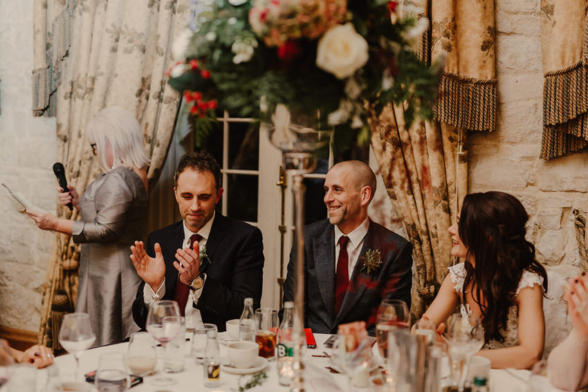 A laidback and intimate winter wedding at The Cliff at Lyons 96
