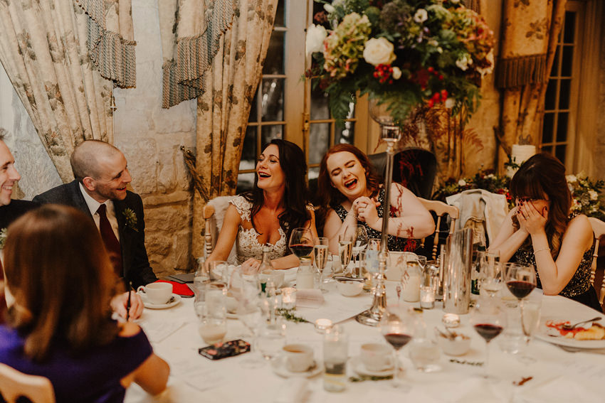 A laidback and intimate winter wedding at The Cliff at Lyons 97