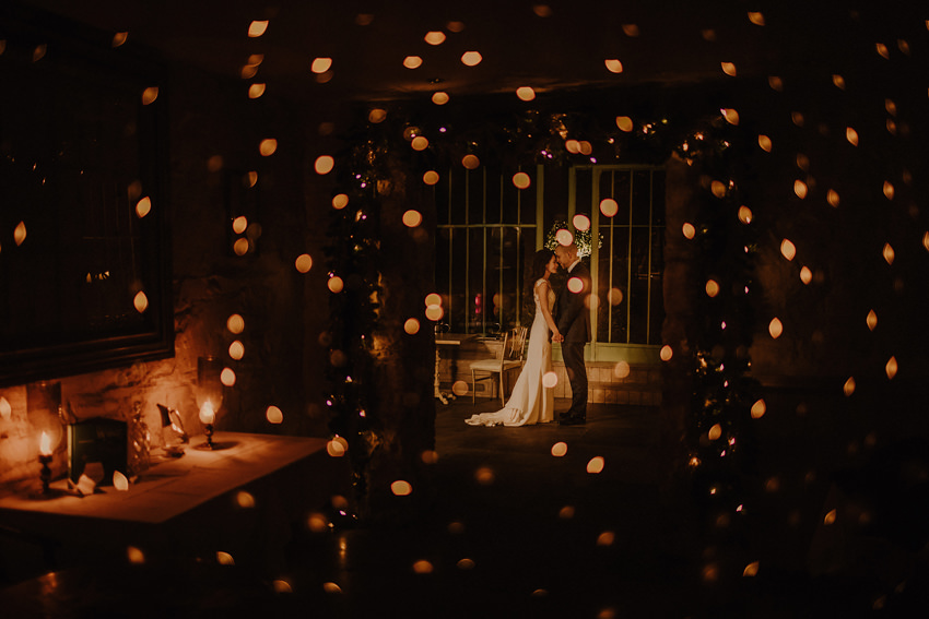 A laidback and intimate winter wedding at The Cliff at Lyons 103