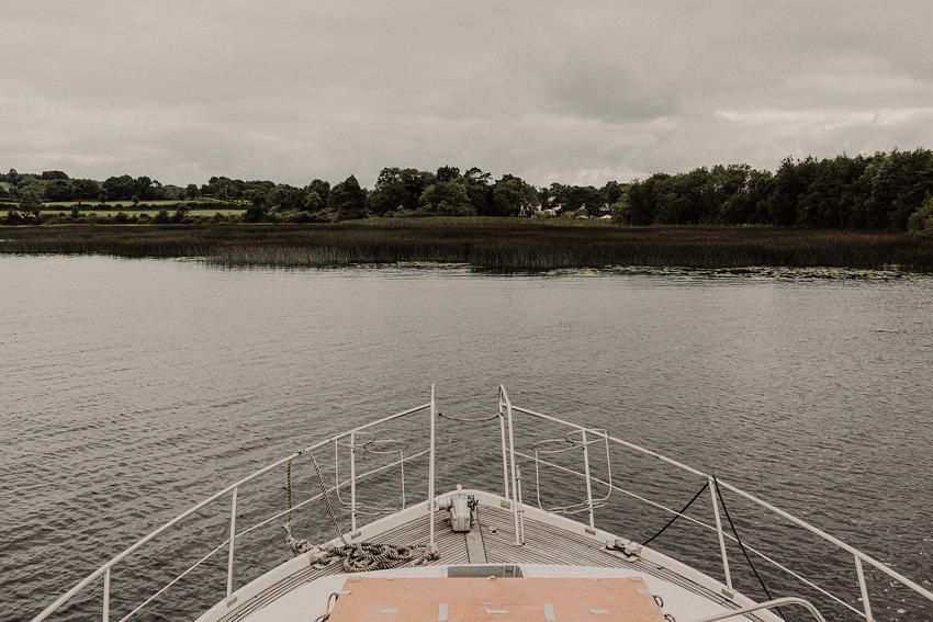 sail through Lough derg