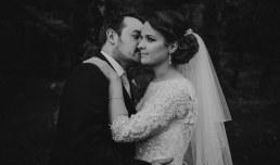 arnham Estate wedding - bride and groom at the near lake