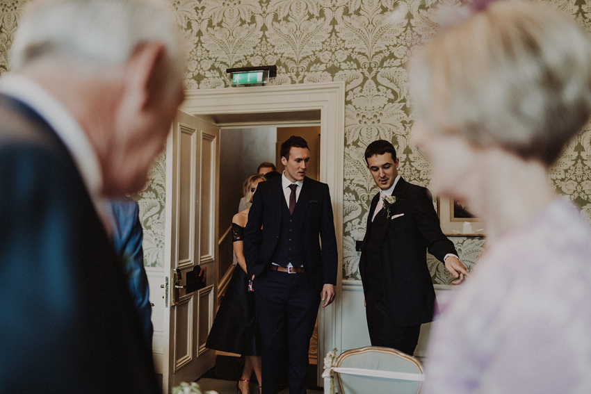 A small intimate wedding at The Shelbourne Hotel | Grainne & James 30